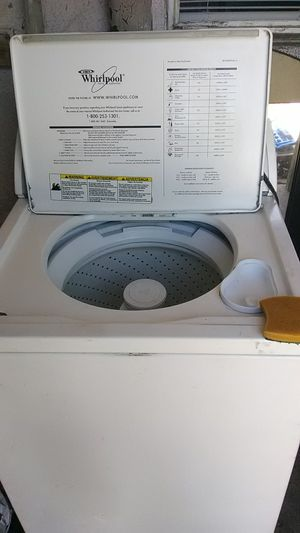Whirlpool heavy-duty washer for Sale in Stockton, CA