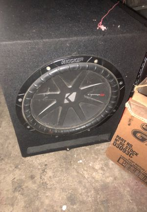 One 12in kicker no box $60 for Sale in Bloomington, CA