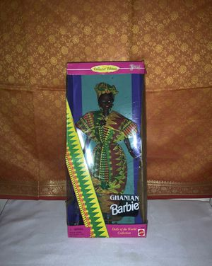"Vintage BARBIE ""1996 Mattel - GHANIAN BARBIE - Collector Edition"" for Sale in Beaverton, OR"