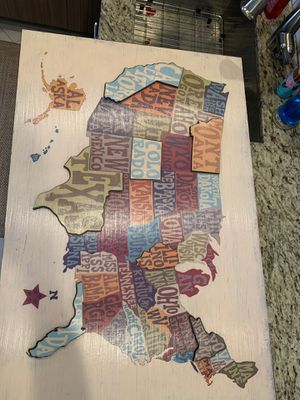 United States political map picture for Sale in Plantation, FL