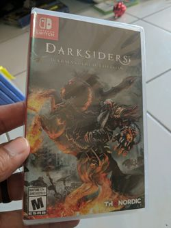 Darksiders Warmastered Edition For Nintendo Switch for Sale in Miami Gardens,  FL