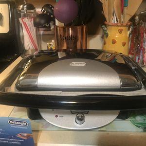 New delonghi retro panini grill parrilla panini press grill for Sale in Fort Pierce, FL