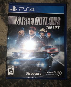 Street outlaws PS4 for Sale in Columbus, OH
