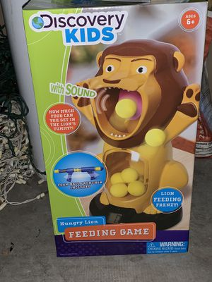 Discovery kids hungry lion feeding game for Sale in Phoenix, AZ