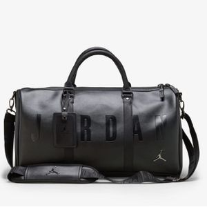 JORDAN | JUMPMAN DUFFLE BAG | BLACK/BLACK | JORDAN LETTERING | BRANDING for Sale in Gardena, CA