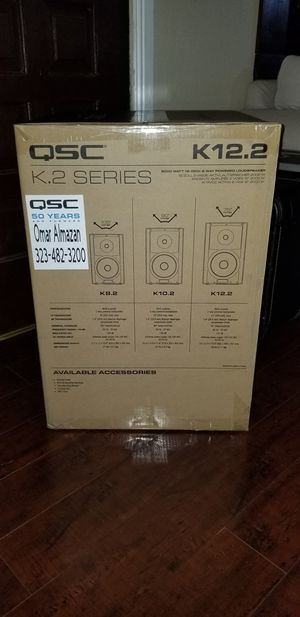 Qsc K12.2 for Sale in Los Angeles, CA