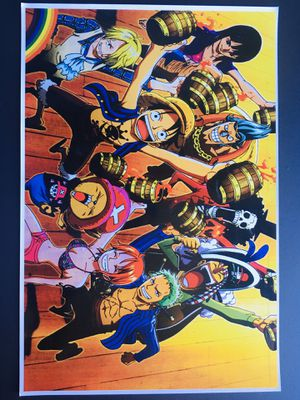 Anime one piece poster for Sale in Lawndale, CA