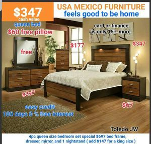 4pcs bedroom set for Sale in Ontario, CA