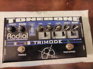 Radial tonebass trimode guitar Distortion for Sale in Reston, VA