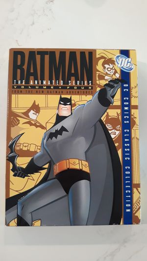 Batman the Animated Series Volume 4 DVD for Sale in Whittier, CA