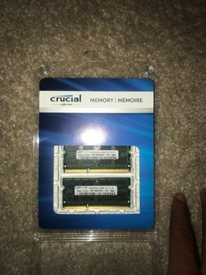Crucial Memory 8Gb Kit for Sale in Darnestown, MD