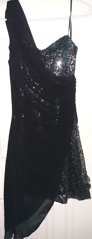 Black & Silver Sequin Dress sz.M for Sale in Cleveland, OH