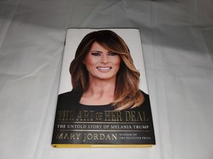 Art of her deal Melania Trump USA US president first lady book autobiography for Sale in San Antonio, TX