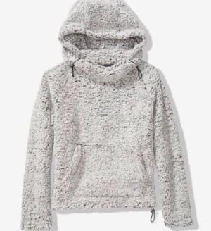 VS Pink Sherpa Pullover Hoodie Sweater for Sale in Lancaster, OH