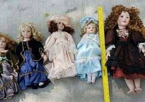 Porcelain dolls, used for Sale in Santee, CA