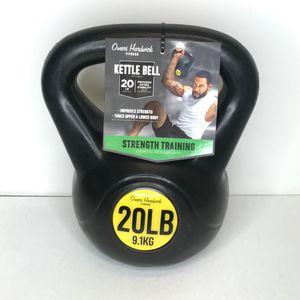 Omari Hardwick Fitness Kettlebell 20 lb for Sale in FL, US