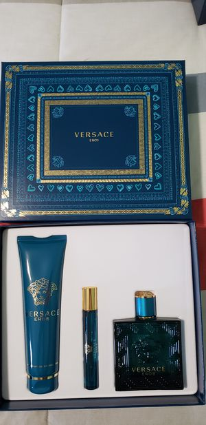 Versace Eros 3.4oz set $75$ firm for Sale in Los Angeles, CA