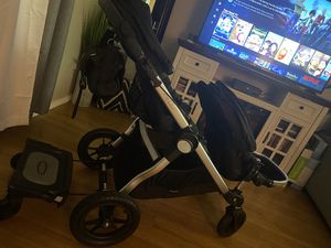 City select double stroller with attachments for Sale in Tacoma, WA