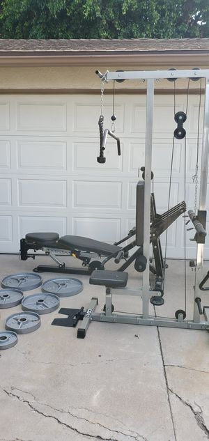 Home gym ($160) weights 6pr ($180) bench ($100) bike ($59) for Sale in Orange, CA