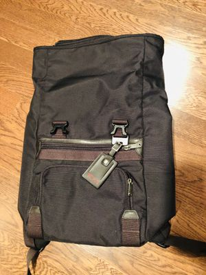 TUMI backpack travel Roll and zip top / side. Fashion. NWT for Sale in Falls Church, VA