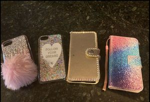 IPhone 7 case (4) for Sale in Los Angeles, CA