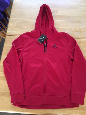 Brand new Nike air Jordan jacket full zip hoodie dry men's medium M for Sale in Spring Valley, CA