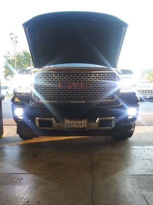 CSP Car LED lights kit MODEL H16 with 1 year WARRANTY. Easy plug and play Car CSP LED headlights set for Sale in West Covina, CA