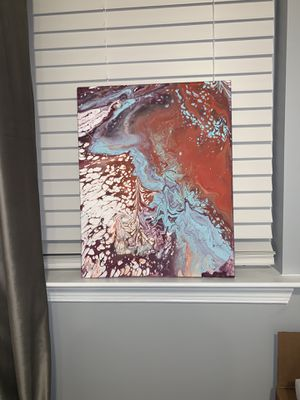 Acrylic abstract painting for Sale in Sterling, VA