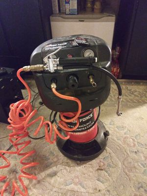 Shop force air compressor and karcher pressure washer for Sale in Grove City, OH