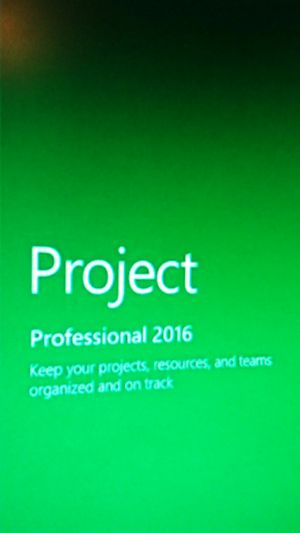 Microsoft project professional 2016 for Sale in Norwood, MA