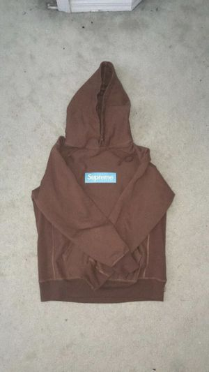 Supreme Rust Box Logo Hoodie for Sale in Clermont, FL