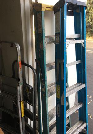Warner Ladders 4/ 10 Ft for Sale in Long Beach, CA