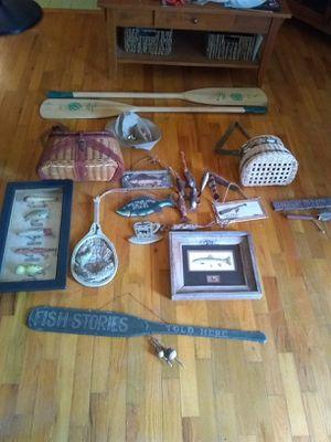 Fishing decor for Sale in Tacoma, WA