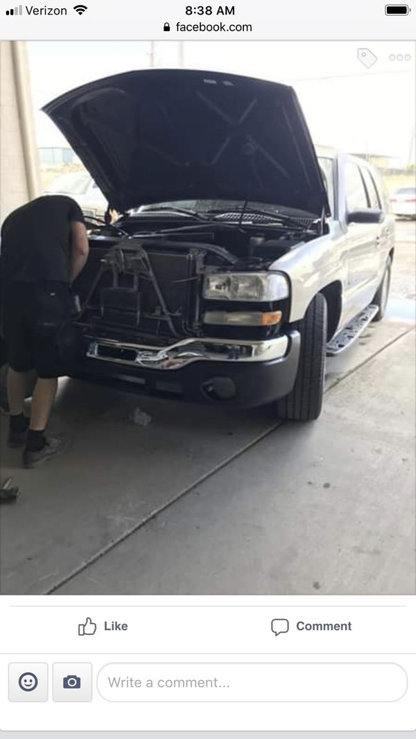 99-06 Chevy Silverado or Gmc radiator support / doors