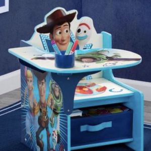 Disney Toy Story 4 Chair Desk with Storage Bin for Sale in Chino, CA