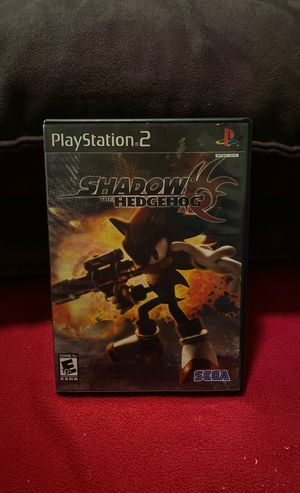 Shadow The Hedgehog ps2 for Sale in Kissimmee, FL