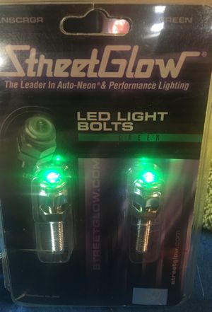 STREET GLOW illuminated bolts for Sale in Anaheim, CA