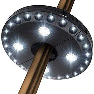 Umbrella Pole Light for Patio Umbrellas, Camping Tents or Outdoor Use (Black) for Sale in Los Angeles, CA