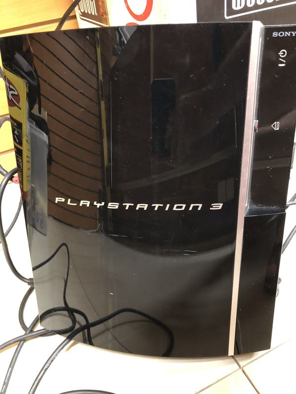 Sony PS3 (CECHP01) 160Gb With 1 Controller / HDMI / POWER CABLE