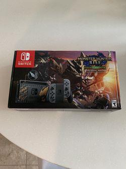 Nintendo Switch Monster Hunter Rise Deluxe Edition Console for Sale in Santa Monica, CA