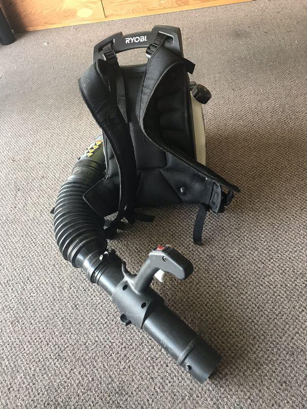 Ryobi Gas Backpack Leaf Blower