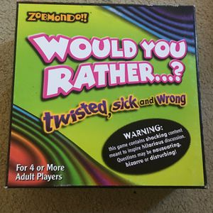Board Games: Would You Rather for Sale in Santa Ana, CA