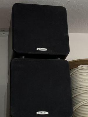 Polk audio sub woofers x2 for Sale in Peoria, AZ