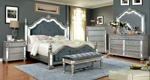 Royal Blue Bedroom Set for Sale in Las Vegas, NV