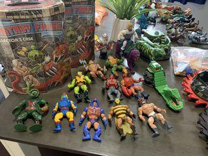 Vintage toys, collectibles, Heman, TNMT,small soldiers for Sale in Los Alamitos, CA