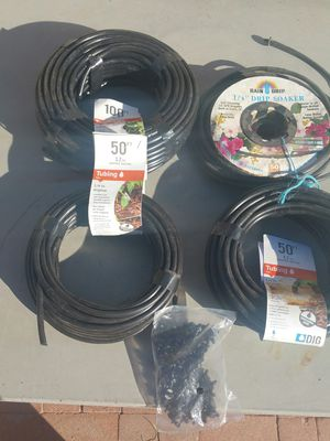 200 plus dripper and 250 ft of water emitter for Sale in Guadalupe, AZ