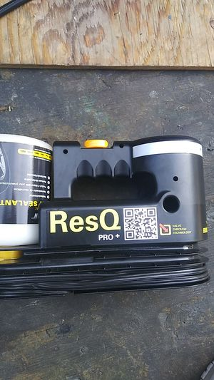 ResQ pro tire repair air compressor kit for Sale in San Francisco, CA