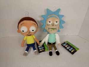 Rick and Morty Galactic Plushies Stuffed Figures for Sale in Garland, TX