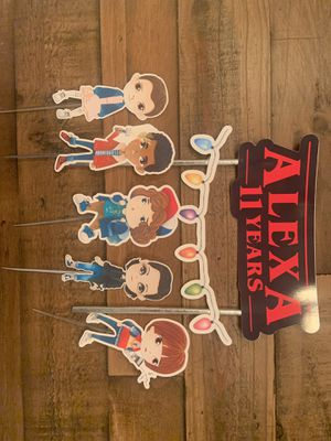 Stranger Things Personalized Cake Topper for Sale in Margate, FL