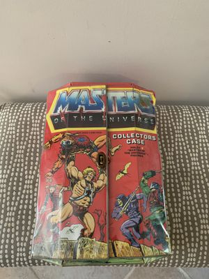 Master of the universe figure case for Sale in Wethersfield, CT